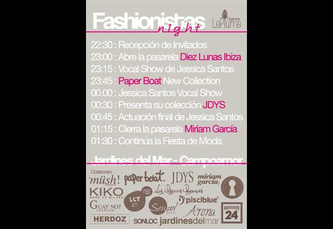 Dosier Prensa 2012 Fashionistas Night