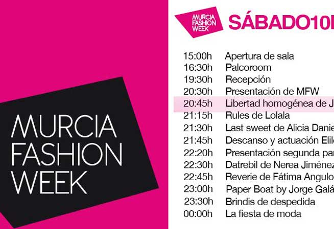 Dosier Prensa 2012 Murcia fashion week