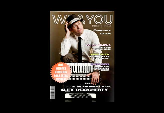 We and You Magazine Diciembre