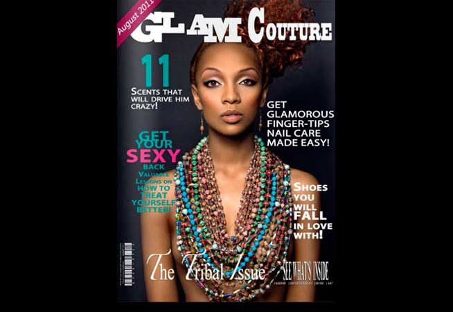 Glam Couture Magazine (USA)- Agosto