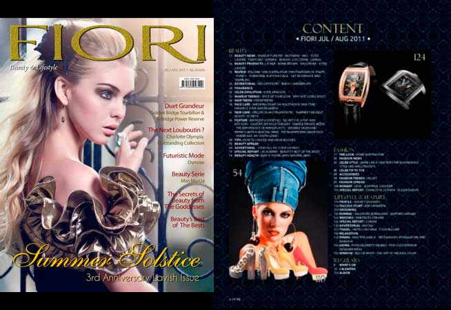 Fiori Magazine (Indonesia) - Julio/Agosto
