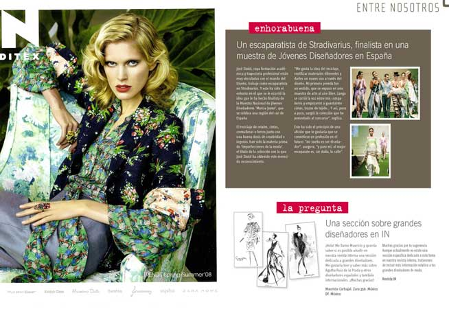Dosier Prensa 2008 Revista Inditex