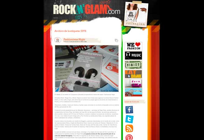 Dosier Prensa 2012 Rock N' Glam